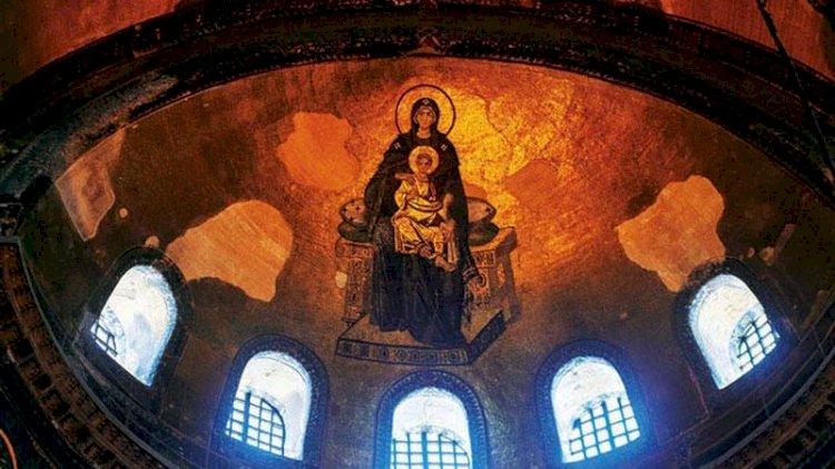 Ayasofya'daki mozaik ve fresklere 'lazer' formülü