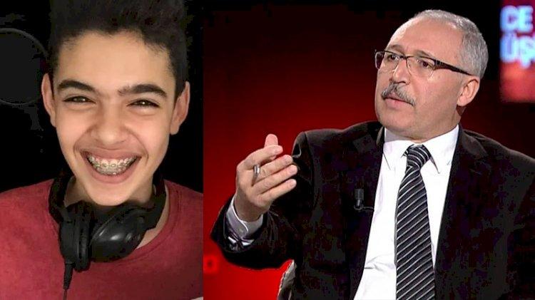 15 yaşındaki Berkay'dan Abdülkadir Selvi'ye yanıt!