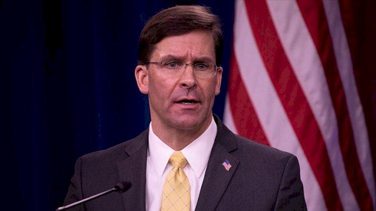 Trump, Savunma Bakanı Mark Esper'i görevden aldı