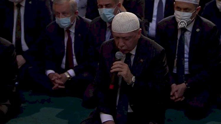Tayyip Erdoğan'dan 'Ayasofya 24 saat açık kalsın' talimatı