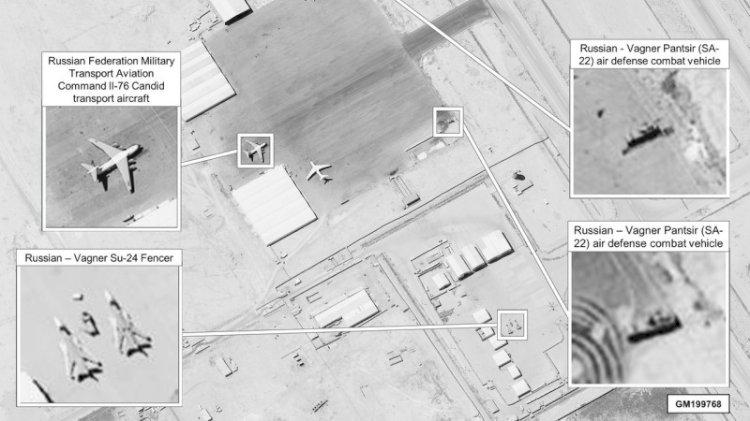 ABD Libya'da Wagner'in peşinde... Yeni uydu görüntüleri paylaştı