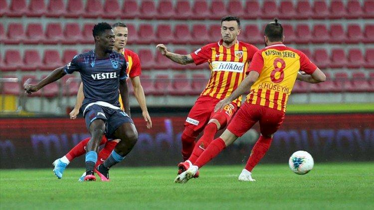 Süper Lig'de küme düşen takımlar belli oldu!