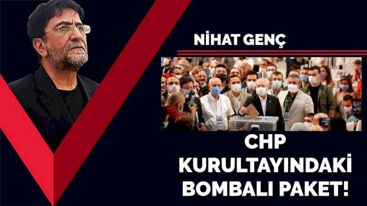 CHP kurultayındaki bombalı paket!