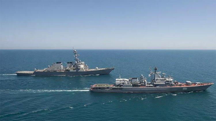 ABD deniz ve hava kuvvetlerinden Karadeniz'de tatbikat