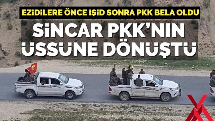 Bunu söyleyen Barzani: Sincar PKK üssüne dönüştü