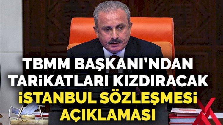 Meclis Başkanı Şentop'tan İstanbul Sözleşmesi açıklaması
