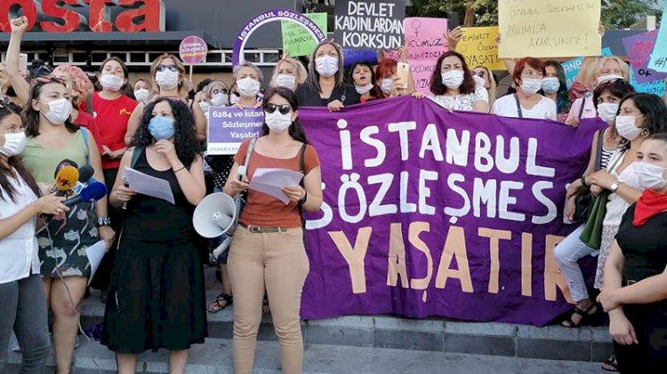 Kadınlar, sosyal medyada İstanbul Sözleşmesi'nin maddelerini okuyacak