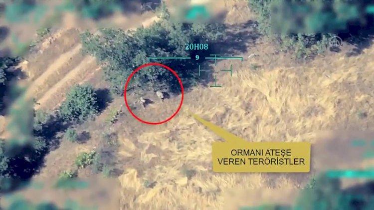 Suçu TSK'ya atacaklardı... PKK'lıların 'yangın' planı deşifre oldu!