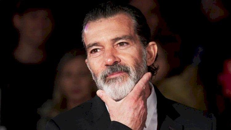 Antonio Banderas koronaya yakalandı