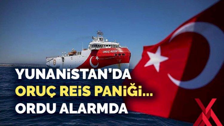 Yunanistan'da Oruç Reis paniği... Ordu alarma geçti