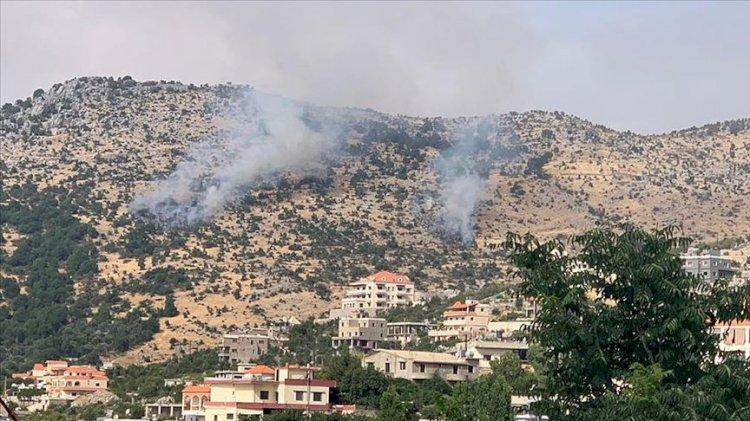 Lübnanresmi ajansı: İsrail fosfor bombası kullandı