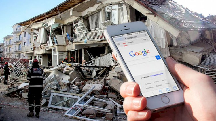 Google'dan sismograf özelliği! Depremleri artık önceden öğreneceğiz...