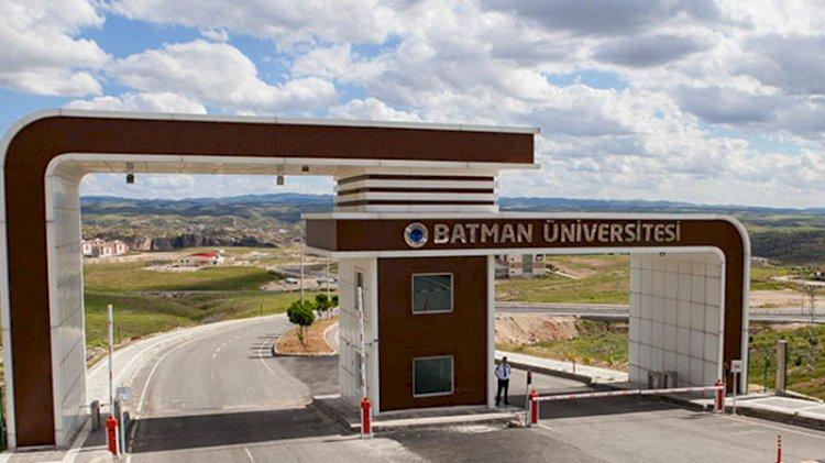 Bir 'aile üniversitesi' daha... Batman'da rektör eşini ve oğlunu öğretim görevlisi olarak atadı