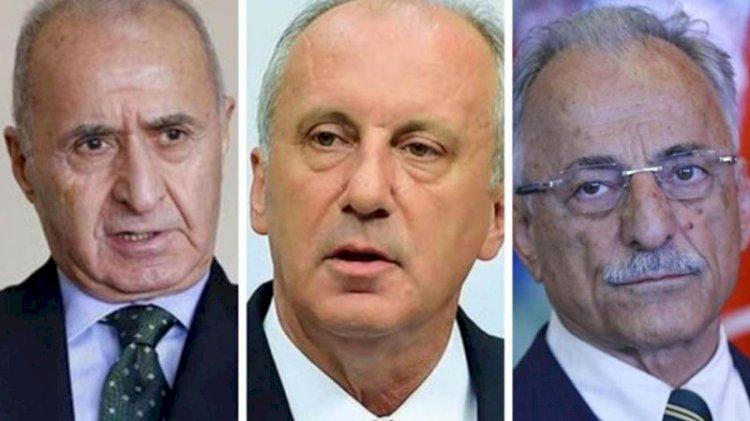 Eski genel başkanlardan Muharrem İnce'ye: Masayı devirme
