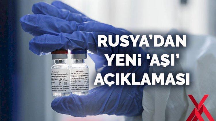 Rusya'dan yeni 'aşı' açıklaması: İki haftaya kadar piyasada