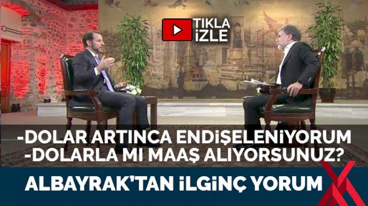 Ahmet Hakan 'dolar yükselince endişeleniyorum' dedi, Berat Albayrak'ın yanıtı şaşırttı