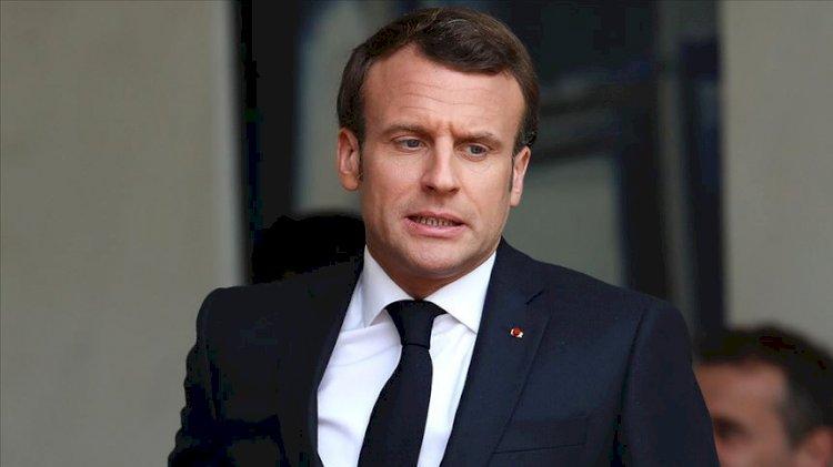CHP: Macron haddini bilmeli