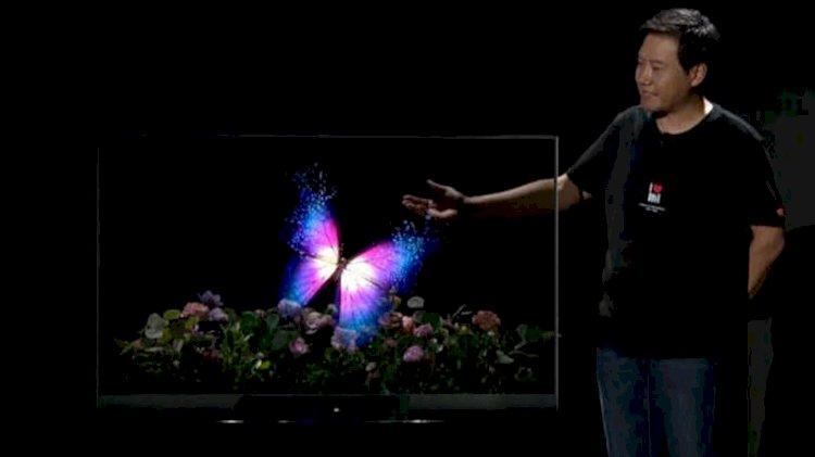 Çinlilerden dünyayı şaşkına çeviren televizyon: İlk kez böylesini gördük!