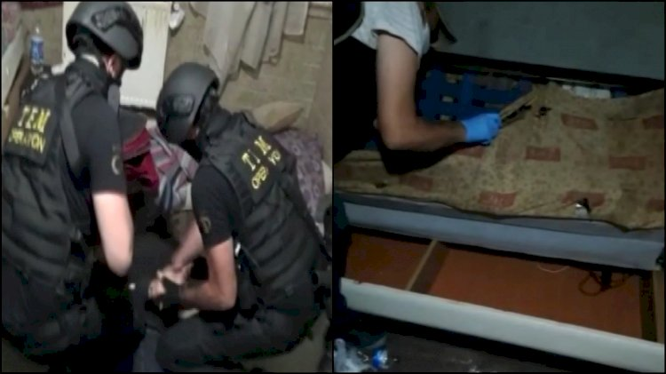 Eylem hazırlığındaki 'IŞİD'li yakalandı