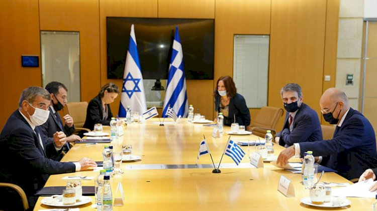 İsrail'den Yunanistan'a tam destek