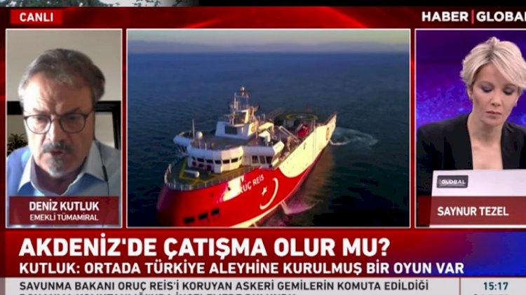 Deniz Kutluk: Oruç Reis'e yapılacak müdahale savaş çıkarır