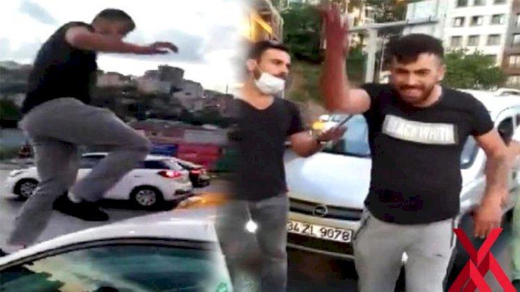 İstanbul'da trafikte kadına küfredip saldıran maganda tutuklandı
