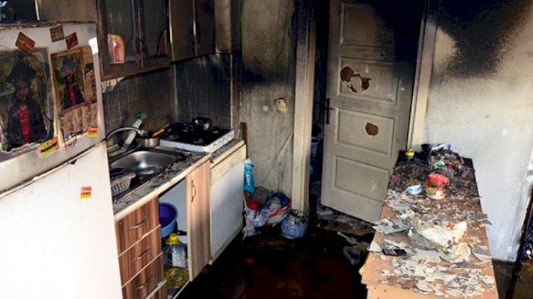 Uyuşturucu parası vermeyen annesinin evini yaktı