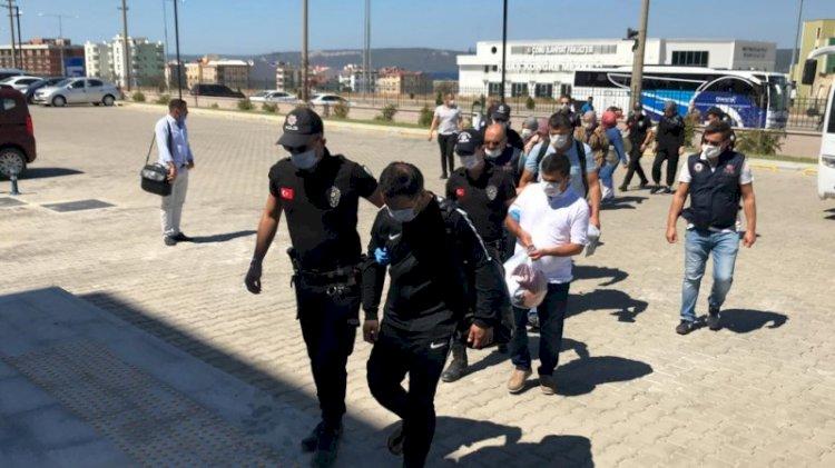 13 FETÖ'cü Yunanistan'a kaçarken yakalandı