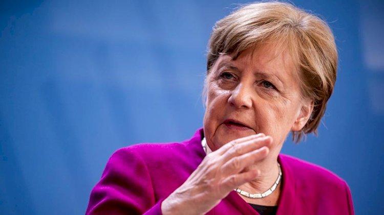 Merkel'den ABD'ye yaptırım tepkisi