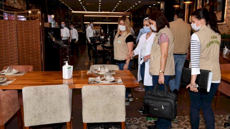 Ankara'da 169 iş yerine 89 bin 819 lira 'koronavirüs' cezası