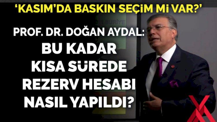 Prof. Dr. Doğan Aydal: Tek bir sondaj ile bu kadar rezervi nasıl hesapladınız?