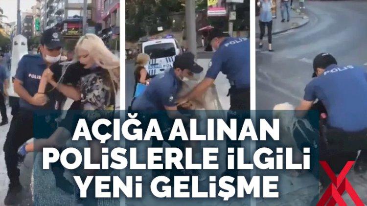 Kadıköy'deki gözaltı sonrası açığa alınan polislerle ilgili yeni gelişme