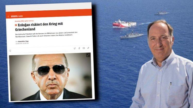 'Mavi Vatan' Alman basınında... Erdoğan, Cem Gürdeniz'in tezlerini nasıl keşfetti?