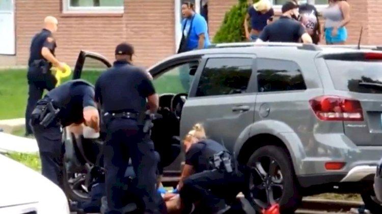 ABD'de bir siyah cinayeti daha... Eylemler yeniden başladı