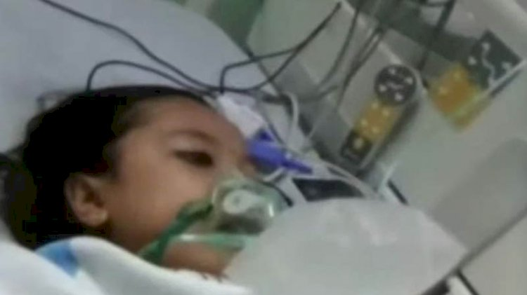 Hastanede ölen çocuk, defnedilirken canlandı