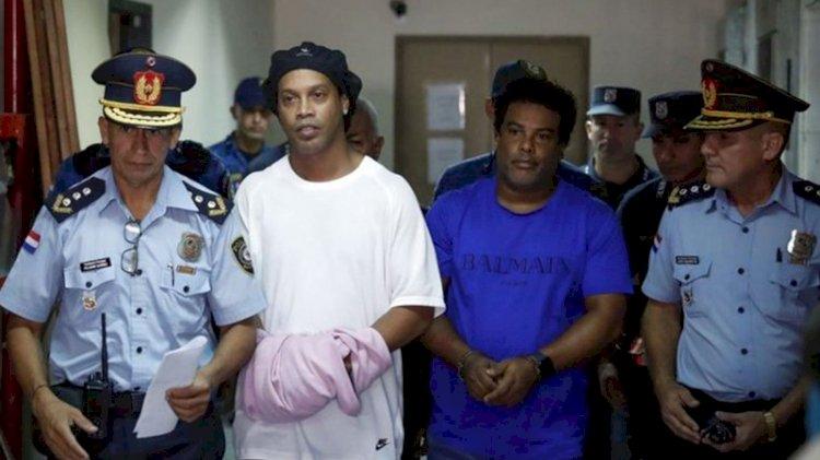 Ronaldinho özgürlüğüne kavuştu