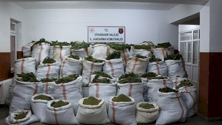 Diyarbakır'da büyük narkotik operasyonu
