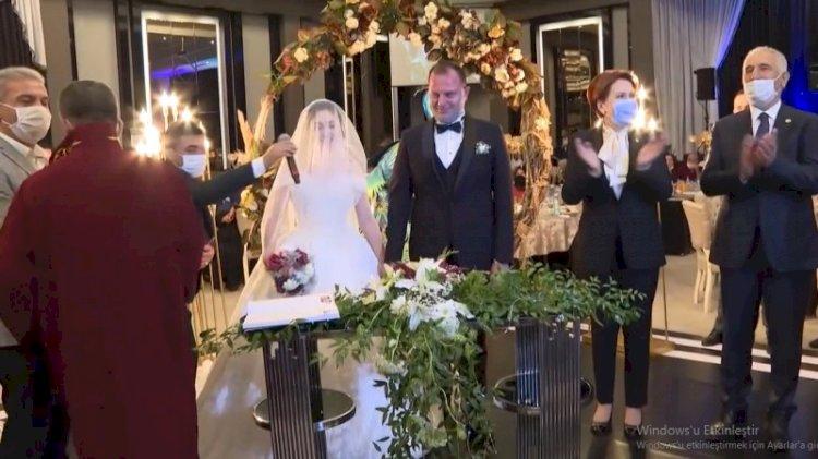 Akşener'in katıldığı düğünün nikah memuru görevden alındı