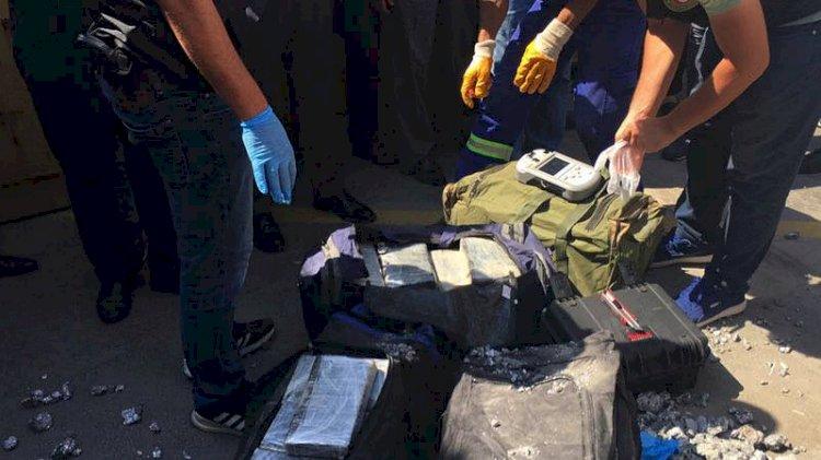 Bakan duyurdu: 540 kilo kokain ele geçirildi