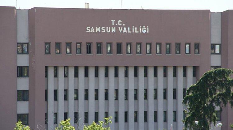 Samsun'da kamu kurumlarına koronavirüs yasağı