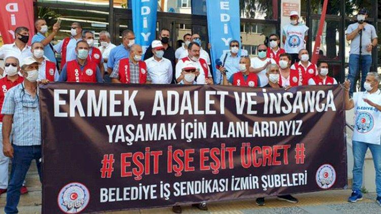 İzmir Büyükşehir Belediyesi'ne grev kararı asıldı