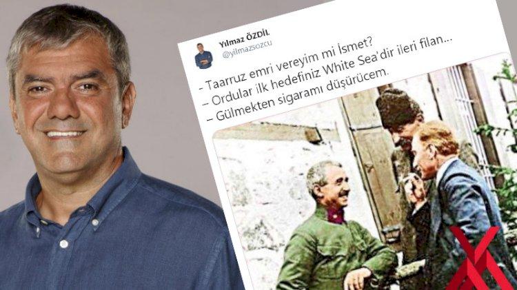 2 bin 500 liraya Atatürk kitabı satan Yılmaz Özdil'den tepki çeken Atatürk'lü tweet