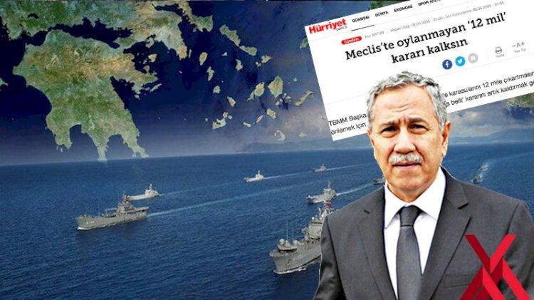 Yunan işgalini 'savaş nedeni' sayan Meclis kararını kaldırmak isteyen Bülent Arınç'ı unutmadık