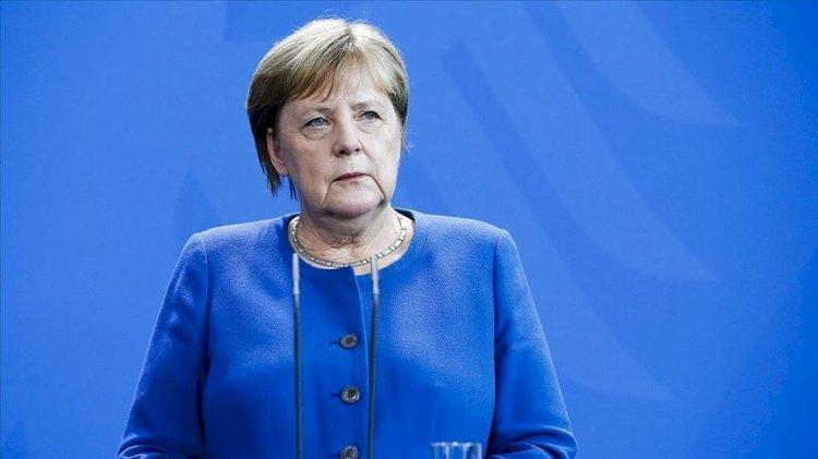 Merkel'den 'Biden' mesajı: ABD ile yan yana olacağız
