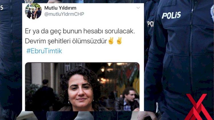 Ölen Dhkpc sanığı ardından 'hesap sorulacak' diyen CHP'li gencin evinde arama yapılıyor