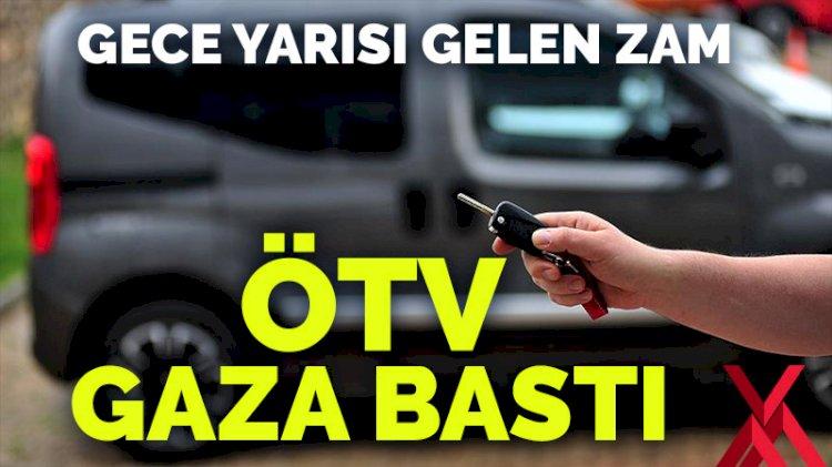 Resmi Gazete'de yayımlandı! Otomobil alımında ÖTV oranı ve matrahı değişti