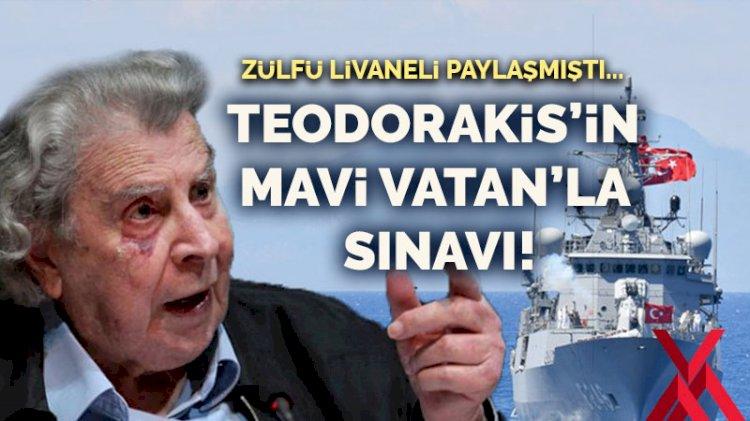 Zülfü Livaneli paylaşmıştı... Teodorakis'in Mavi Vatan'la sınavı!