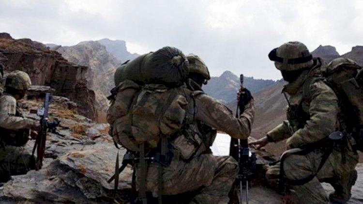 MSB: Irak kuzeyinde 4 PKK'lı terörist etkisiz hale getirildi