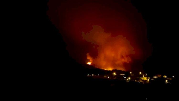 Ankara Nallıhan'da büyük yangın