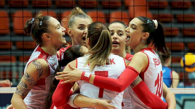 Türkiye 19 Yaş Altı Kız Voleybol Milli Takımı Avrupa Şampiyonu